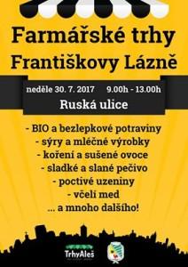 Františkovy Lázně - trhy Aleš
