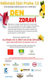 Praha 13 Den zdraví