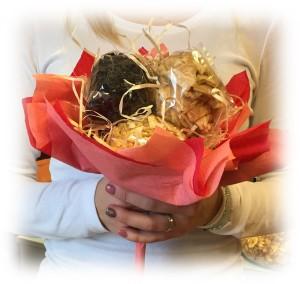 Valentýn květina sušené ovoce