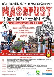 Staročeské masopustní trhy Hroznětín 2017
