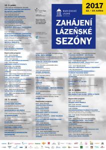 Zahájení lázeňské sezóny 2017 Mariánské Lázně