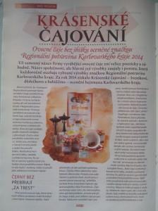COOP, Krásenské čajování, Nebe v hubě, zdravá výživa