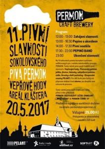 Pivní slavnosti Permon 2017 Sokolov