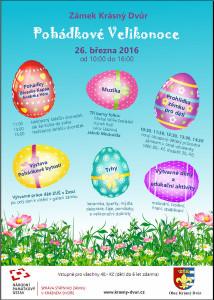 Velikonoce Zámek Krásný Dvůr