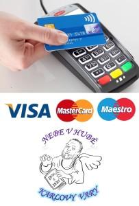nově u nás můžete platit platební kartou bezkontaktně
