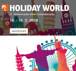 2018 Holiday World Praha a Nebe v hubě