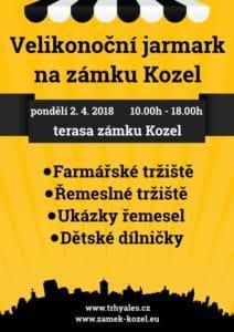 2018.04.02 Velikonoční jarmark na zámku Kozel